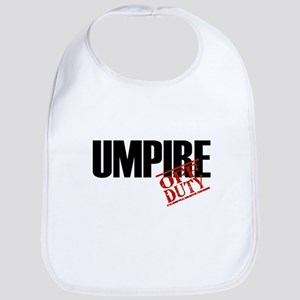 Off Duty Umpire Bib