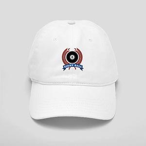 Eight Ball Red Emblem Cap