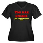 You are unique, just like eve Women's Plus Size V-