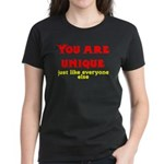 You are unique, just like eve Women's Dark T-Shirt