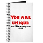 You are unique, just like eve Journal