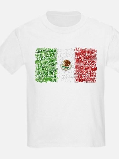 Textual Mexico T-Shirt
