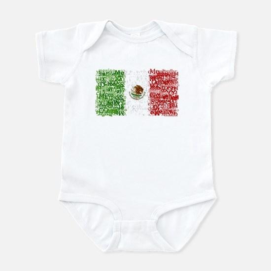 Textual Mexico Infant Bodysuit