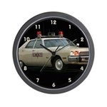 Illinois State Police Wall Clock