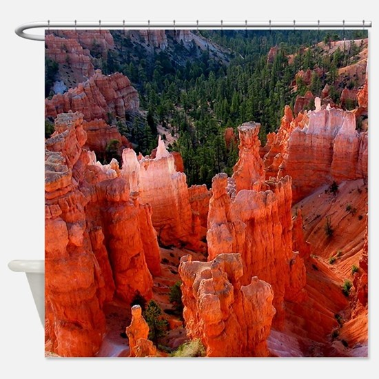 Bryce Canyon National Park Shower Curtain