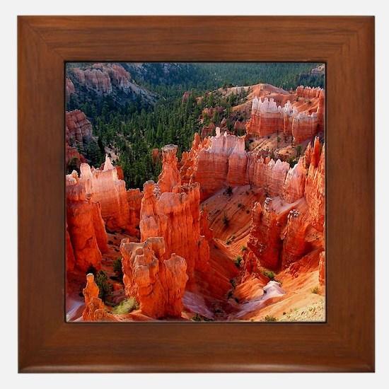 Bryce Canyon National Park Framed Tile