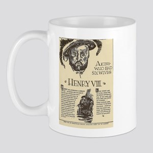 Henry VIII Mini Biography Mugs