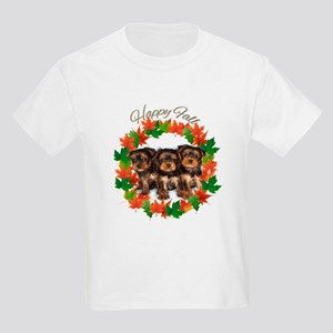 Happy Fall Yorkshire terriers T-Shirt