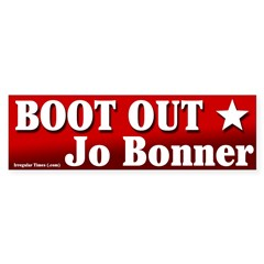 Boot Out Jo Bonner Bumper Bumper Sticker