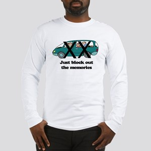 minivan block memories out color Long Sleeve T-Shi