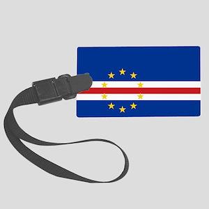 Flag of Cape Verde - Cape Verdea Large Luggage Tag