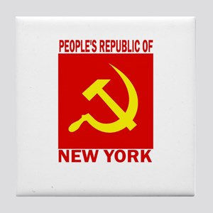 People's Republic of New York Tile Coaster