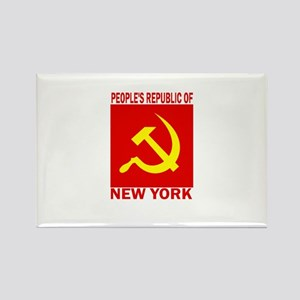 People's Republic of New York Rectangle Magnet