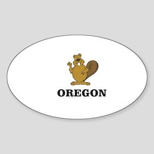 Oregon beaver state animal Sticker