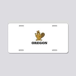 Oregon beaver state animal Aluminum License Plate