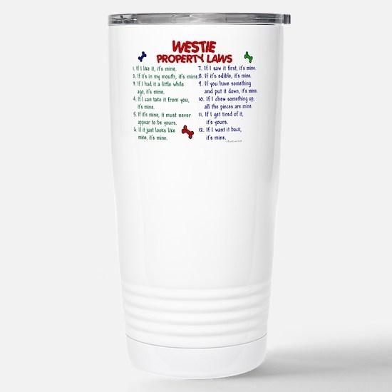 Westie Property Laws 2 Mugs