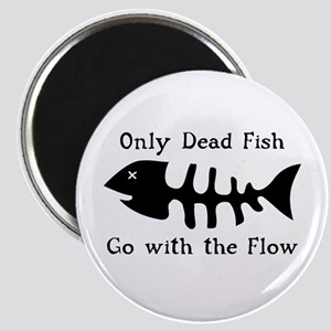 Only Dead Fish Magnet