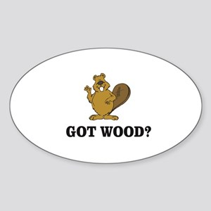cartoon beaver Sticker