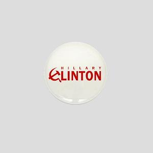 Anti-Hillary Clinton Mini Button