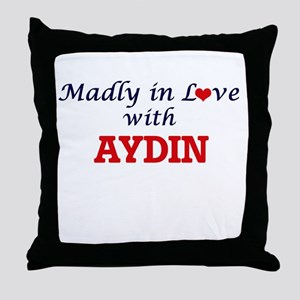 Madly in love with Aydin Throw Pillow