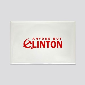 Anyone But Clinton Rectangle Magnet