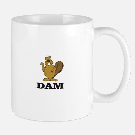 dam beaver Mugs
