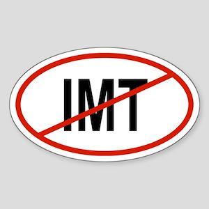 IMT Oval Sticker