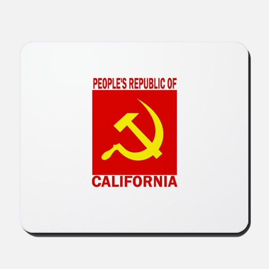 People's Republic of Californ Mousepad