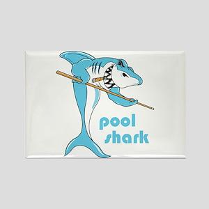 Pool Shark Rectangle Magnet