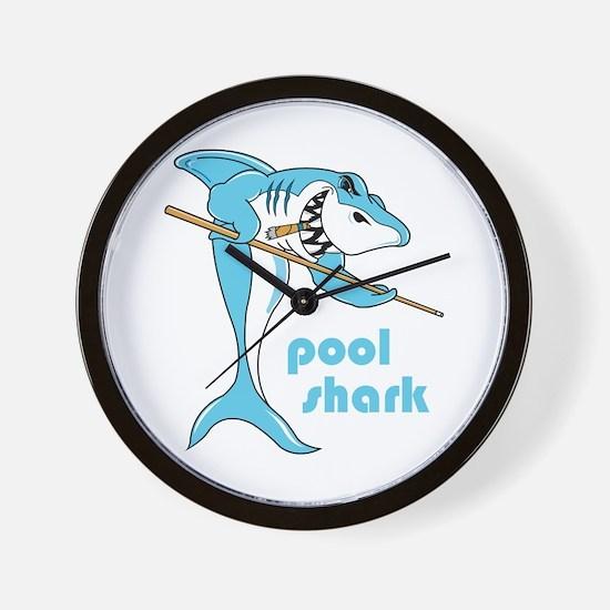 Pool Shark Wall Clock