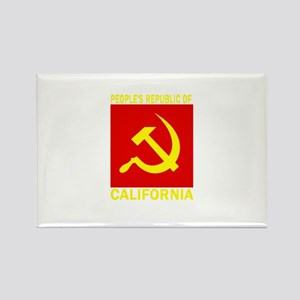 People's Republic of Californ Rectangle Magnet