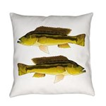 Brownspot Largemouth Cichlid Everyday Pillow