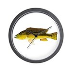 Brownspot Largemouth Cichlid Wall Clock