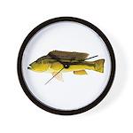 Brownspot Largemouth Cichlid Wall Clock