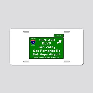I5 INTERSTATE EXIT SIGN - C Aluminum License Plate