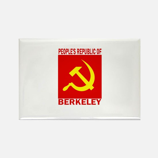People's Republic of Berkeley Rectangle Magnet