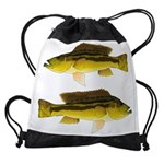 Brownspot Largemouth Cichlid Drawstring Bag
