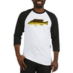 Brownspot Largemouth Cichlid Baseball Jersey