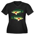 Mozambique tilapia Plus Size T-Shirt