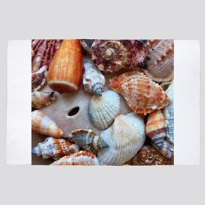Seashells by the Seashore 4' x 6' Rug