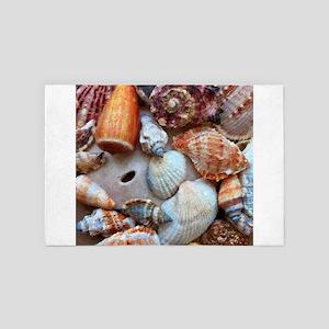 Seashells by the Seashore 4' x 6' Rug