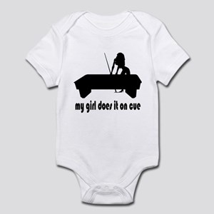 My Girl Does It On Cue Infant Bodysuit