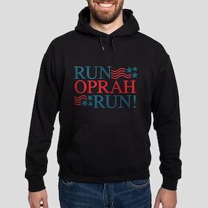 Run Oprah Run! Hoodie (dark)