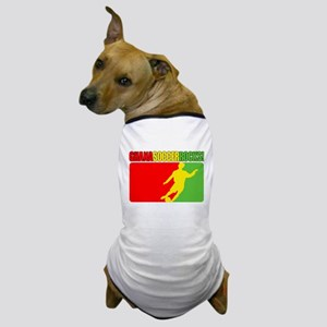 Ghana Soccer Rocks! Dog T-Shirt