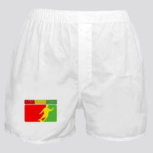 Ghana Soccer Rocks! Boxer Shorts