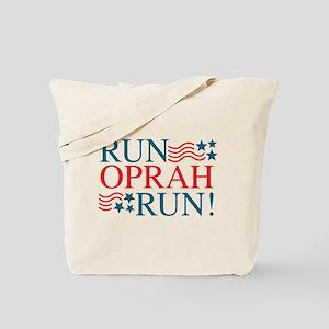 Run Oprah Run! Tote Bag