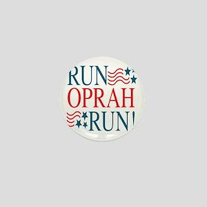 Run Oprah Run! Mini Button