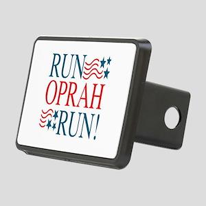 Run Oprah Run! Rectangular Hitch Cover