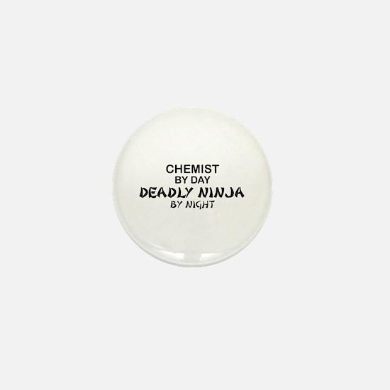 Chemist Deadly Ninja by Night Mini Button