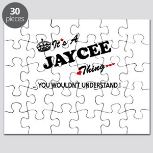 JAYCEE thing, you wouldn't understand Puzzle
